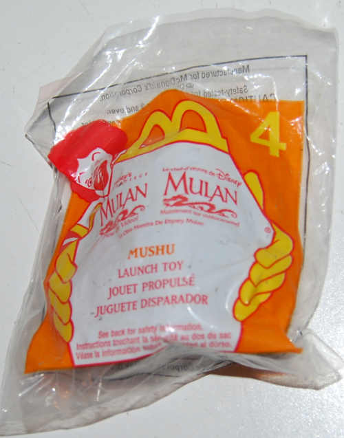 Happy meal toy mulan