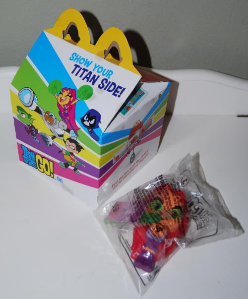Teen titans go happy meal