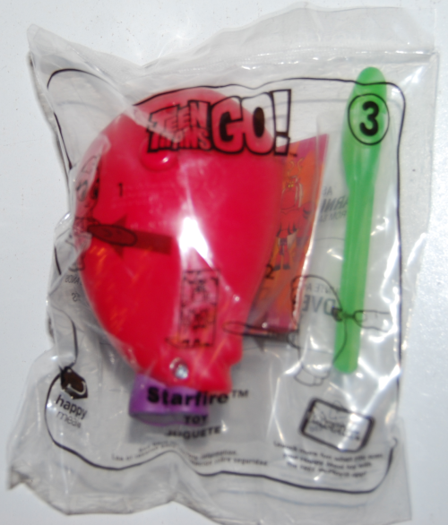 Happy meal toy teen titans
