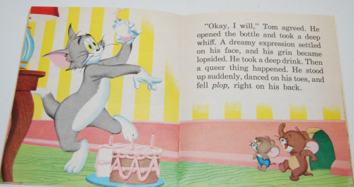 Tom & jerry birthday book 8