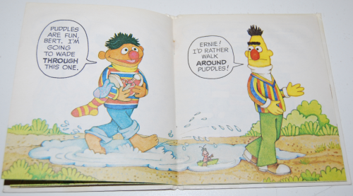 Up & down book ernie & bert 3