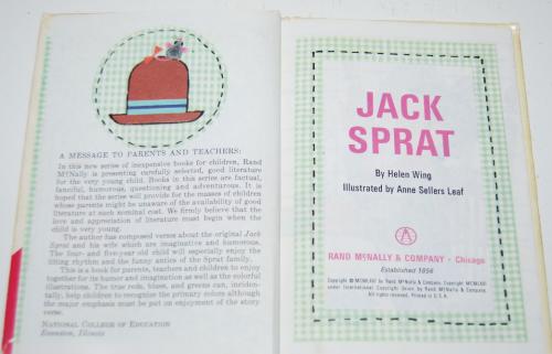 Jack sprat 2