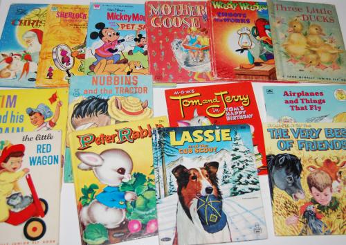 Little vintage books 1
