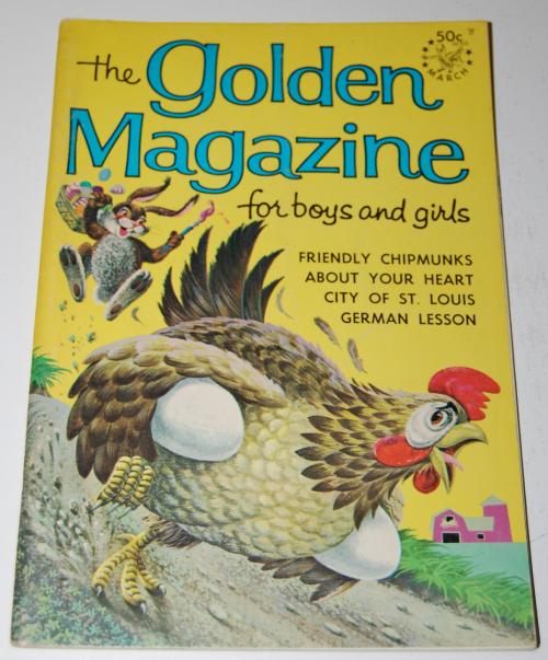 Golden magazine march 1967