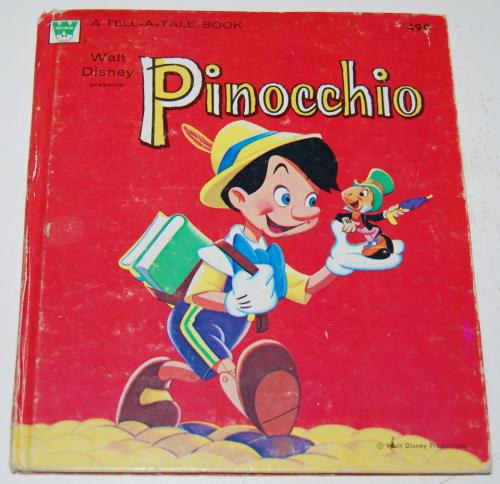 Pinocchio tellatale book