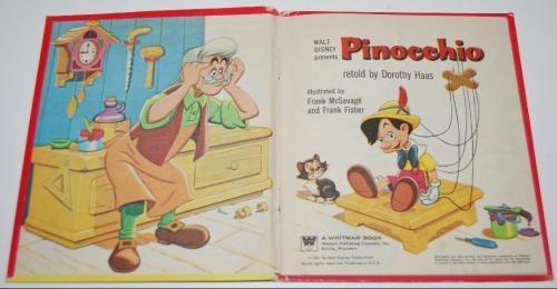 Pinocchio tellatale book 1