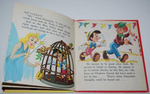 Pinocchio tellatale book 3