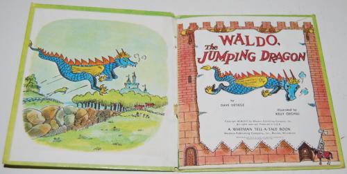 Waldo the jumping dragon 1
