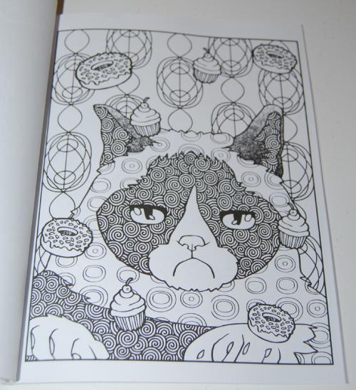Grumpy cat hates coloring book 4