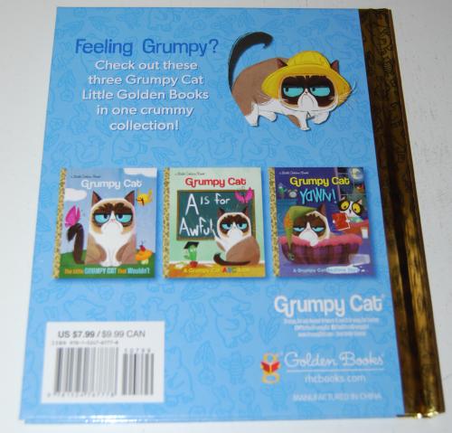 Grumpy cat little golden book x