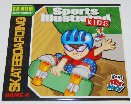 Wendy's kids meal sports illustrated cd rom