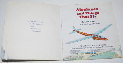 Airplanes book 1