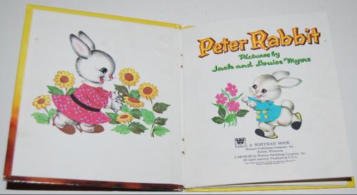 Whitman peter rabbit book 1