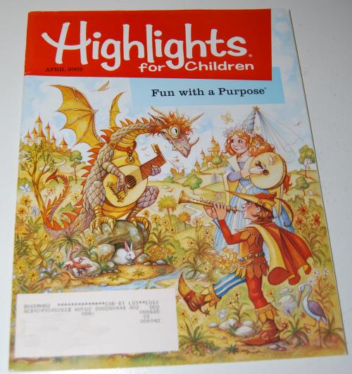 Highlights children april 2002