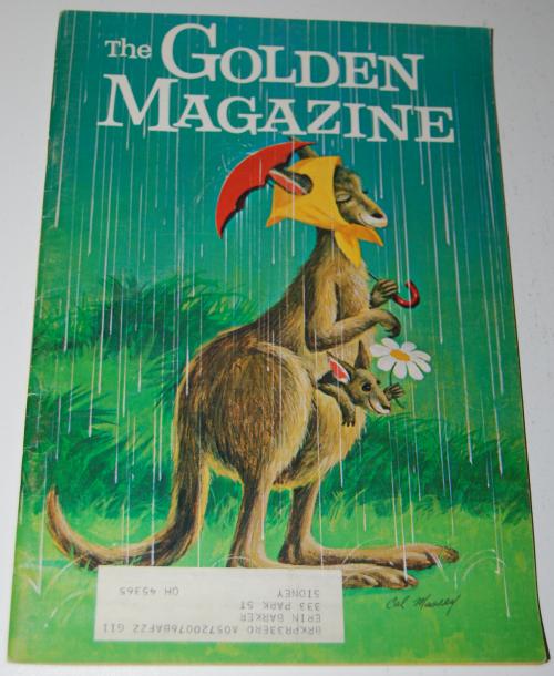 Golden magazine april 1971