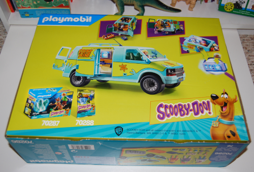 New scooby doo mystery machine playmobil toy