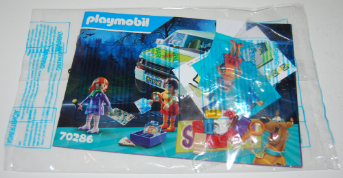 Playmobil scooby doo mystery machine toy parts