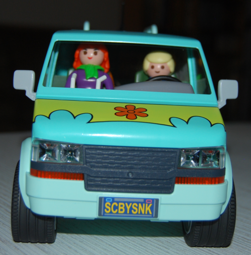 Playmobil scooby doo mystery machine van