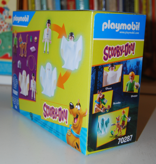 Playmobil scooby doo ghost toy set box