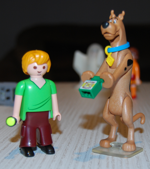 Playmobil scooby doo figures