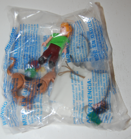 Playmobil scooby doo ghost toy set