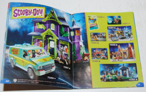 Playmobil scooby doo sets x