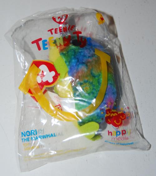 Happy meal toy plush teeny tys 1