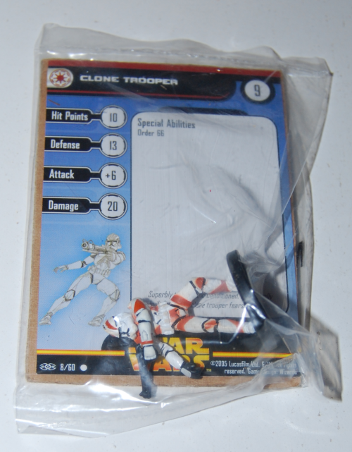 Clone trooper card mini