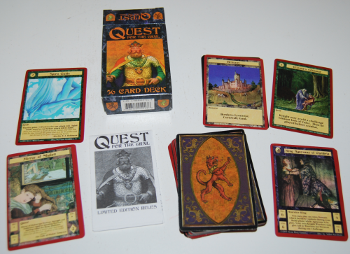 Quest for the grail cards