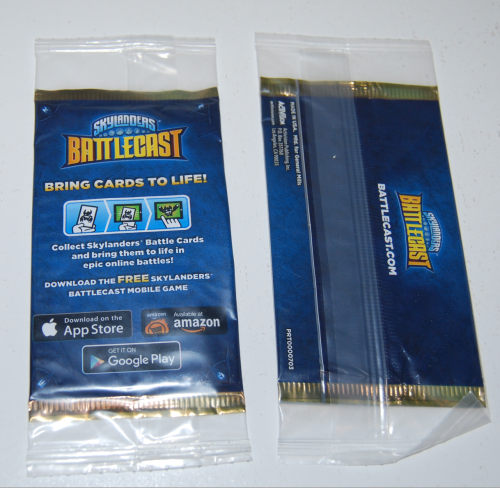 Skylanders battle cards
