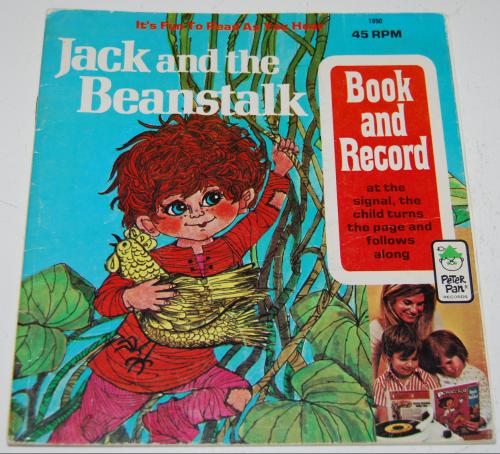 Jack & the beanstalk book & record