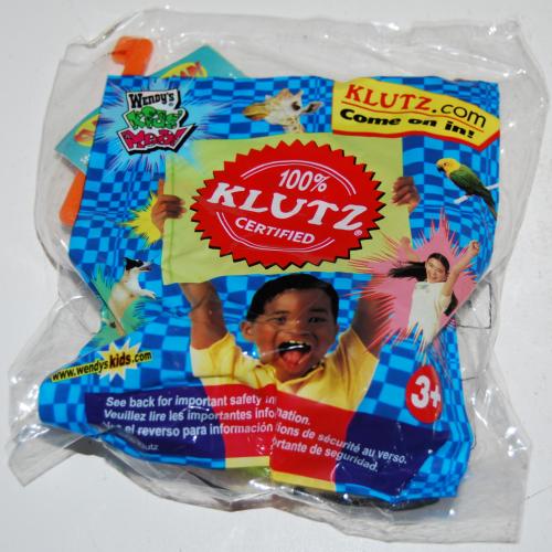 Wendy's kids meal klutz