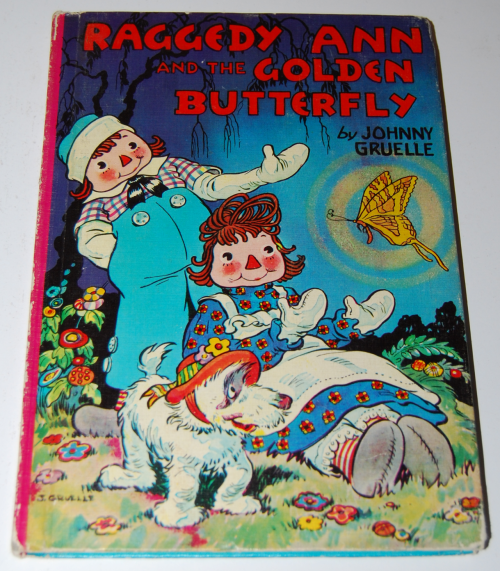 Raggedy ann golden butterfly