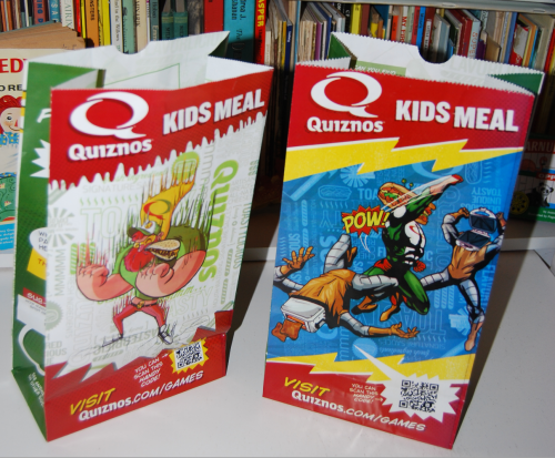 Quiznos kids 8