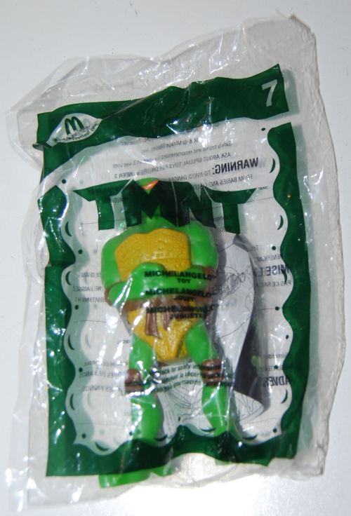 Happy meal toy tmnt 1