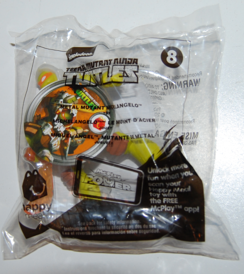 Happy meal toy tmnt 2