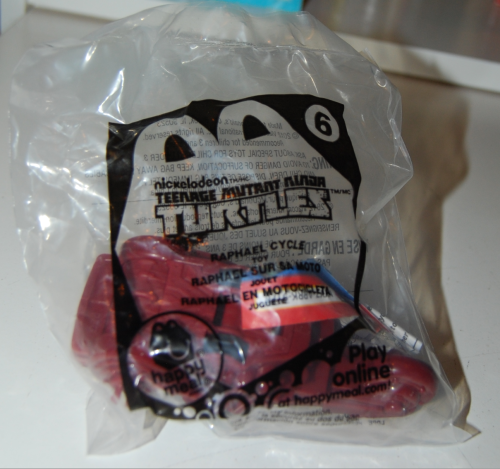 Happy meal toy tmnt 3