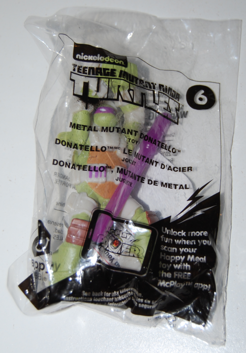 Tmnt happy meal toys 1