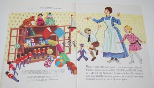 Little golden book mary poppins 2
