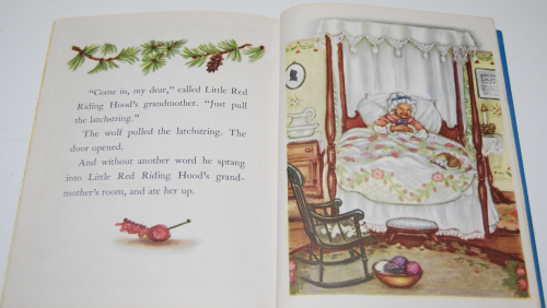 Little golden book little red riding hood 8