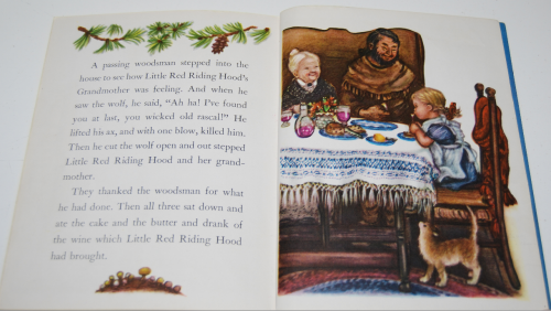 Little golden book little red riding hood 10