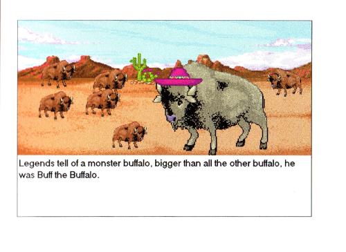 Hunting for weird buffalo 1