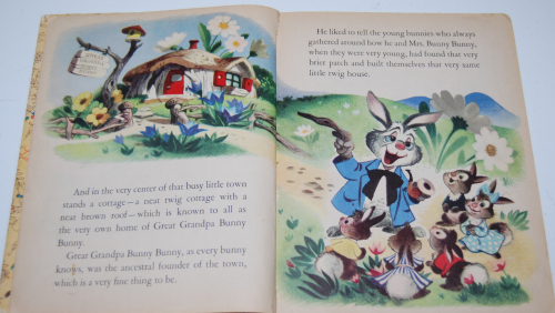 Little golden book disney bunny book 2