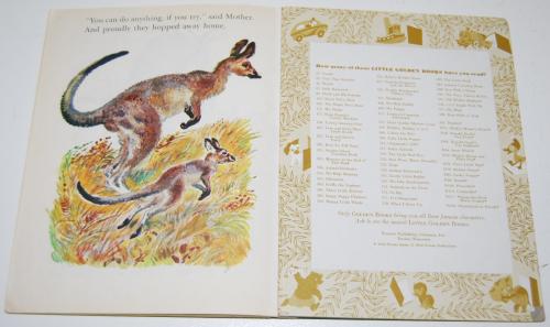 Little golden book hop little kangaroo 8