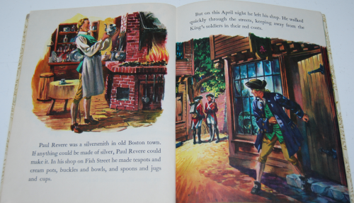 Little golden book disney paul revere 2