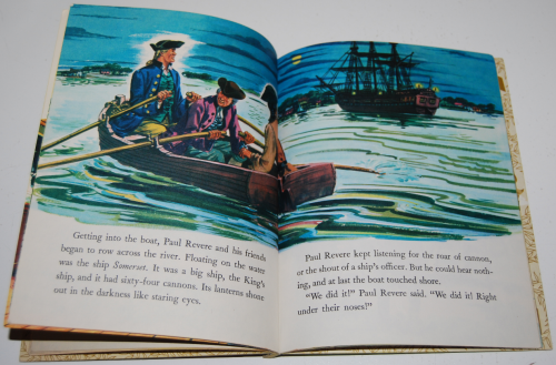 Little golden book disney paul revere 5