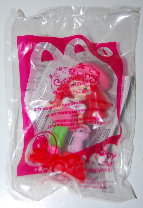 Happy meal toy strawberry shortcake