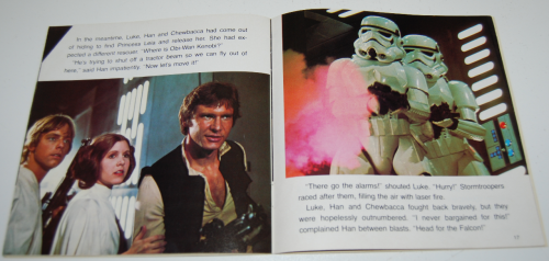 Star wars book & tape 13