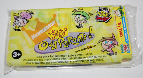Wendy's kids meal fairly oddparents toys