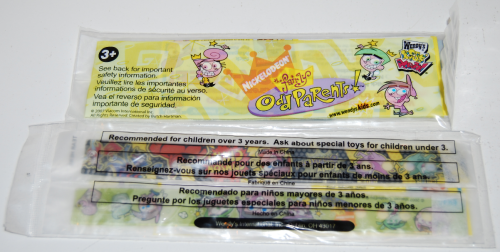Wendy's kids meal fairly oddparents prizes